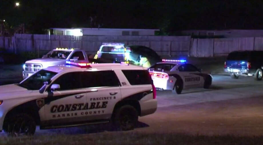 A police chase ended in one arrest Saturday night. Photo: Metro Video