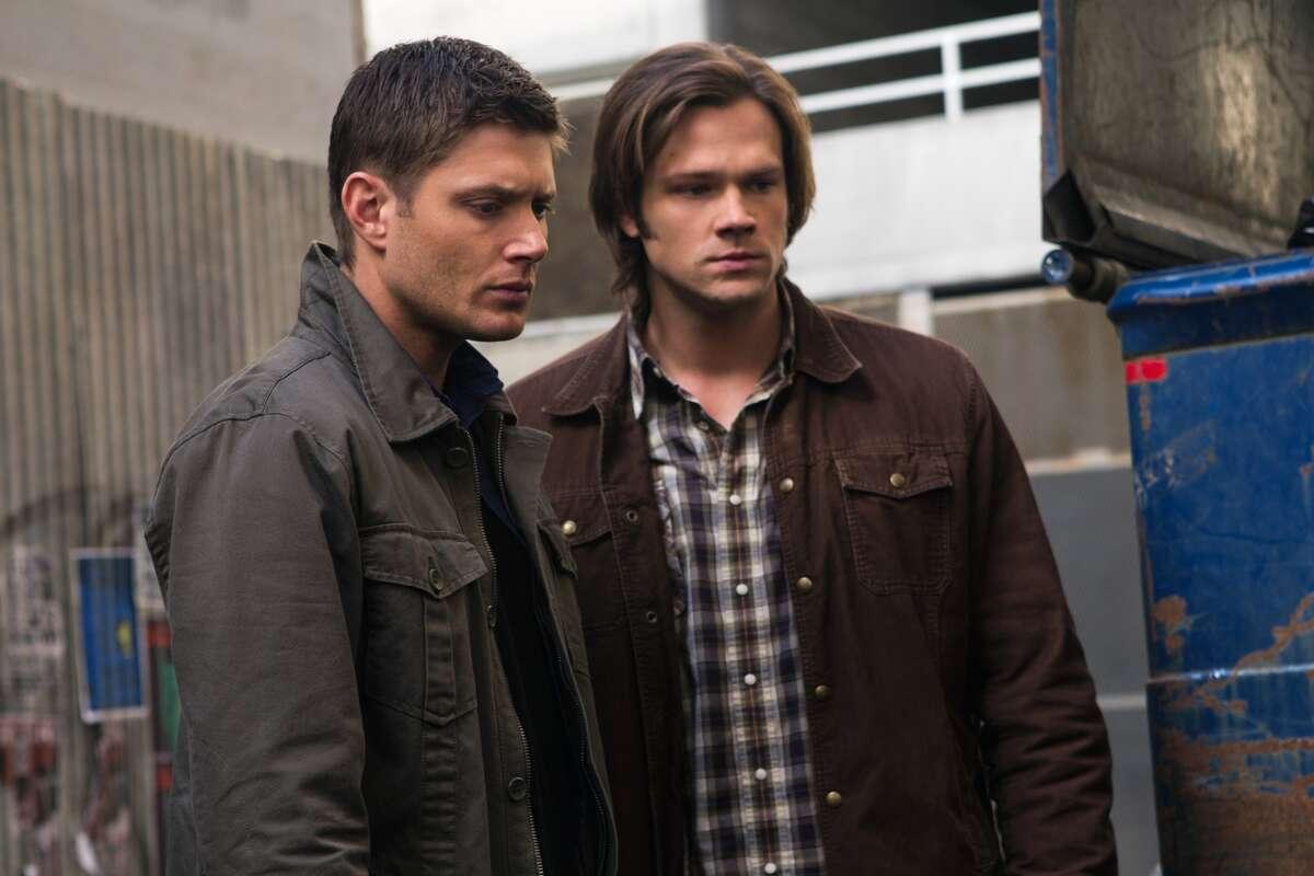 Jensen Ackles as Dean, Jared Padalecki as Sam in 'Supernatural' on The CW.