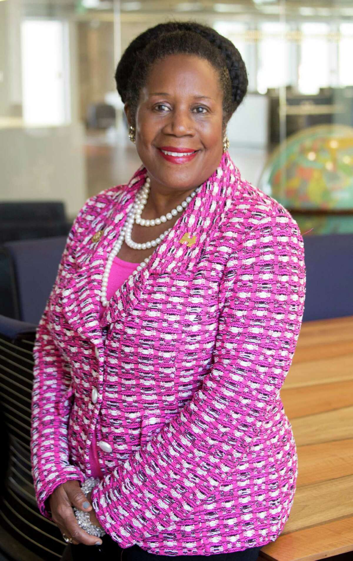 Sheila Jackson Lee is a candidate for U.S. Representative for Texas�' 18th congressional district shown Tuesday September 20, 2016. (JeremyCarter/ Houston Chronicle)