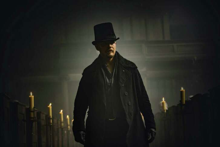 """Tom Hardy stars as James Keziah Delaney, the son who returns to claim his inheritance, in """"Taboo."""""""