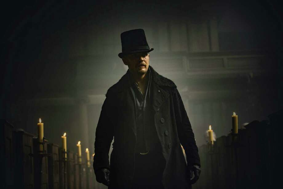 "Tom Hardy stars as James Keziah Delaney, the son who returns to claim his inheritance, in ""Taboo."" Photo: FX / Copyright 2016, FX Networks. All rights reserved."