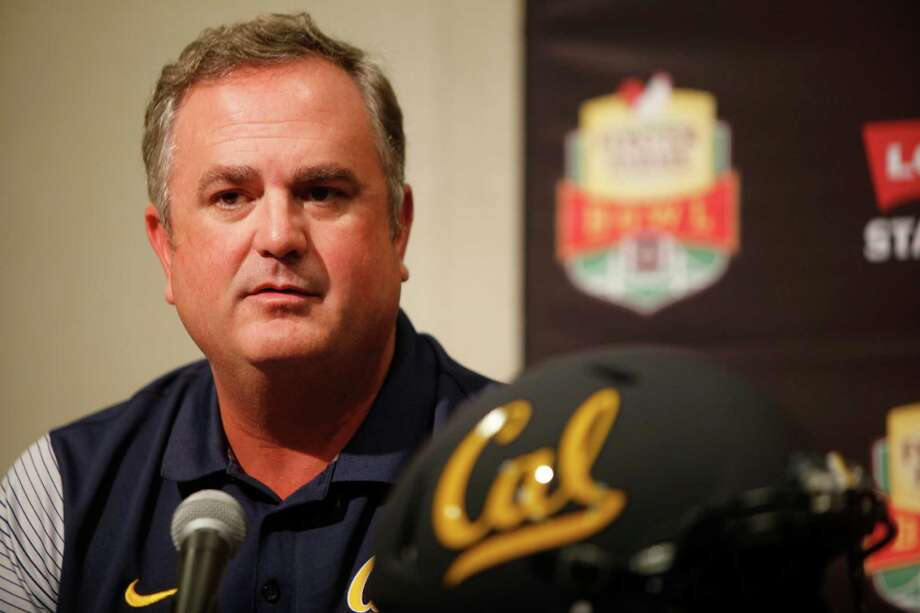 University of California head coach Sonny Dykes during a press conference at the Bay Area Football Media Day on Thursday, July 28, 2016 at Levi Stadium in Santa Clara. Photo: Michael Noble Jr., INTERN / **MANDATORY CREDIT FOR PHOTOGS AND SFCHRONICLE/NO SALES/MAGS OUT/TV