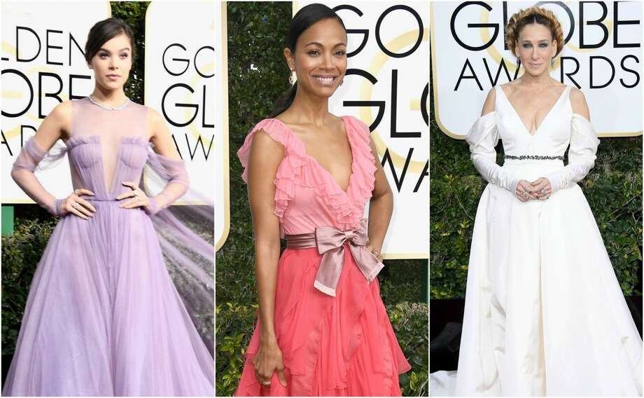 >> Keep clicking to see the best and worst fashions from the 2017 Golden Globe Awards. Photo: Getty Images