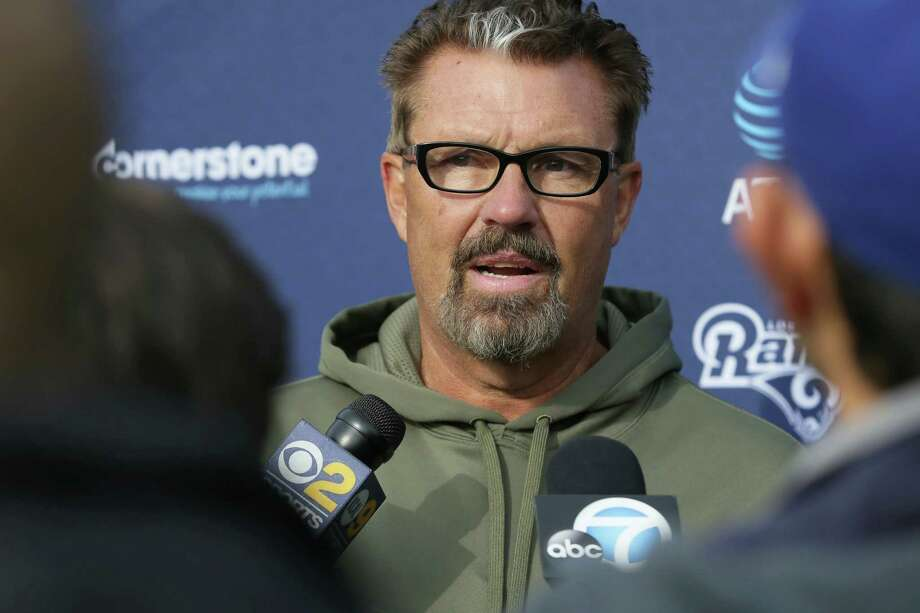 FILE - In a Friday Oct. 21, 2016, file photo, Los Angeles Rams defensive coordinator Gregg Williams speaks to the media after a practice session at Pennyhill Park Hotel in Bagshot, England. The Cleveland Browns have hired Williams to fix a defense that was among the NFL's worst in 2016. (AP Photo/Tim Ireland, File) Photo: Tim Ireland, STR / Copyright 2016 The Associated Press. All rights reserved.