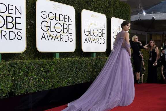 BEST FOR COLOR: Hailee Steinfeld in Vera Wang
