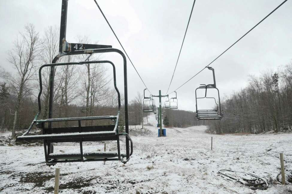 2012 file photo showing the view looking up the ski hill at the Big Tupper Ski hill on Thursday March 29, 2012 in Tupper Lake, N.Y. (Paul Buckowski / Times Union archive)