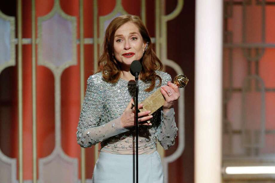 French thriller 'Elle' wins Globe for best foreign film