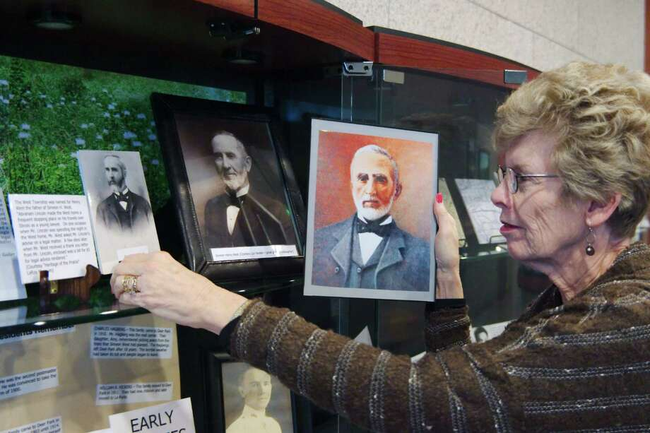 """Deer Park City Councilwoman Sherry Garrison will give a presentation on the city's founder, Simeon West. Known for a spirit of adventure and a deep interest in spiritualism, which is the belief in communication with the dead through mediums, West filled numerous roles in his life, serving as a developer, state legislator, gold miner and author. """"He really was a good man and believed in the Golden Rule,"""" Garrison says. Photo: Kirk Sides Houston Chronicle / © 2016 Kirk Sides / Houston Community Newspapers"""