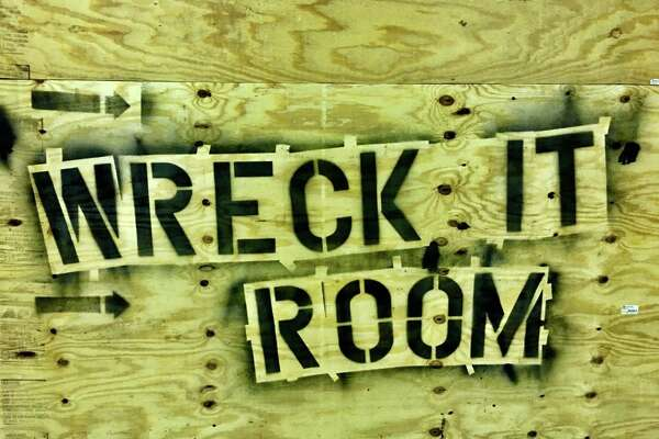 The Wreck It Room opened in the Colonnade Shopping Center on Phelan Boulevard in Beaumont and will host a grand opening event on Jan. 14.