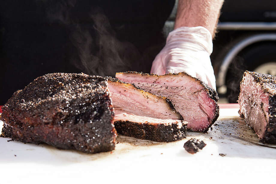 Scenes from Houston Barbecue Festival's Super Beef Sunday. the 4th annual event will be held Sunday, Feb. 5 at Saint Arnold Brewing Co. Photo: Chuck Cook