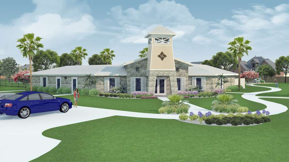 A rendering of the Lago Mar clubhouse. Photo: Land Tejas