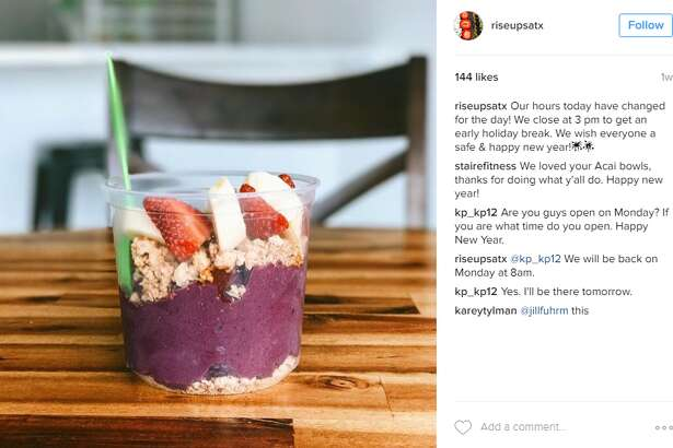 Rise Up Acai's fruity medleys topped with flowers have made the bowls must-haves for local foodie Instagram accounts, even before Farnel opened his doors last week.