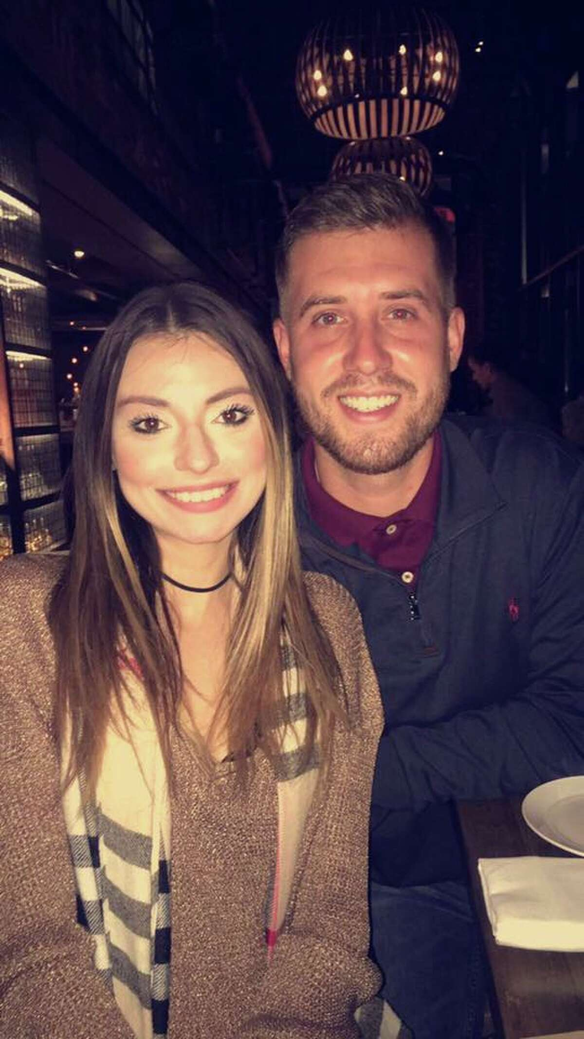 Ross Lebeau and his girlfriend, Sejla Tahirovic