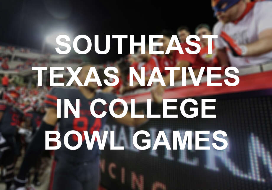 See the Southeast Texas athletes whose teams played in bowl games in the 2016-17 football season. Photo: Yi-Chin Lee / © 2016  Houston Chronicle