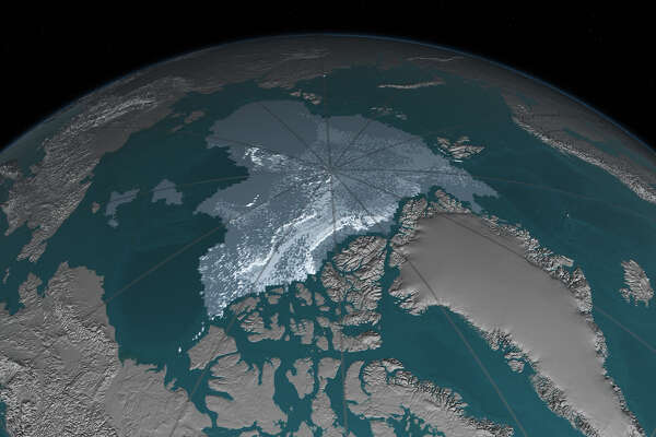Arctic ice - After      Date : September 2016