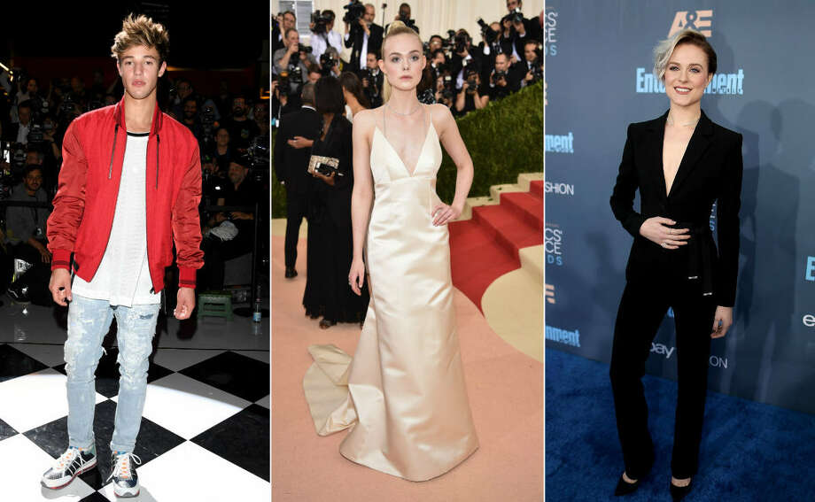 Continue clicking to see Forbes' list of the 30 Under 30 Hollywood, which include social media star Cameron Dallas, actress Elle Fanning and actress Evan Rachel Wood. Photo: Getty Images