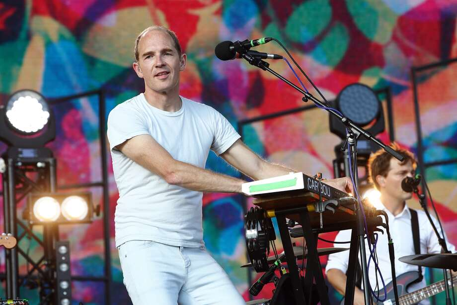 LONDON, ENGLAND - JULY 17: Dan Snaith of Caribou performs live at Citadel Festival at Victoria Park on July 17, 2016 in London, England. (Photo by Burak Cingi/Redferns)