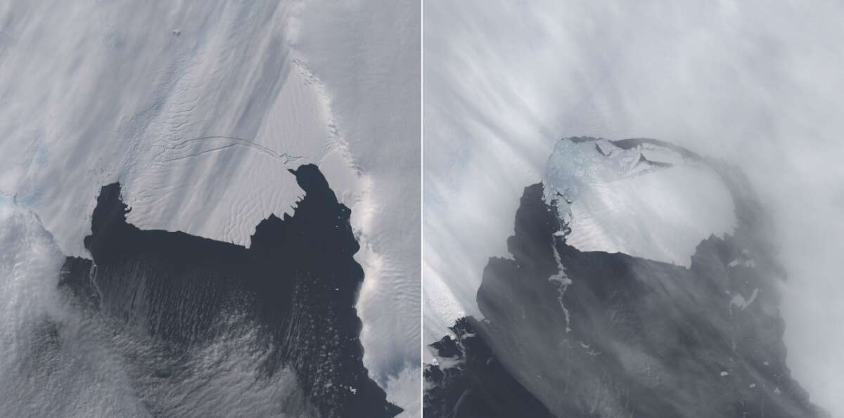 PHOTOS: Before and after climate change For thirty years, NASA has used satellite-based imagery and temperature data to study climate change.Click through to see before and after images of climate change.