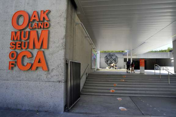 "The entrance to The Oakland Museum of California is seen on Friday, May 31, 2013 in Oakland, Calif. The museum opened it's long-delayed ""Natural Science"" section which focuses on science in the woods, and fields and streams of the city."