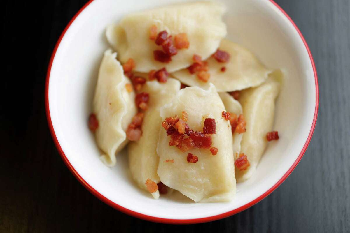 Pierogi: buttery potato-and-cheese affirmations that God lives, and loves us.
