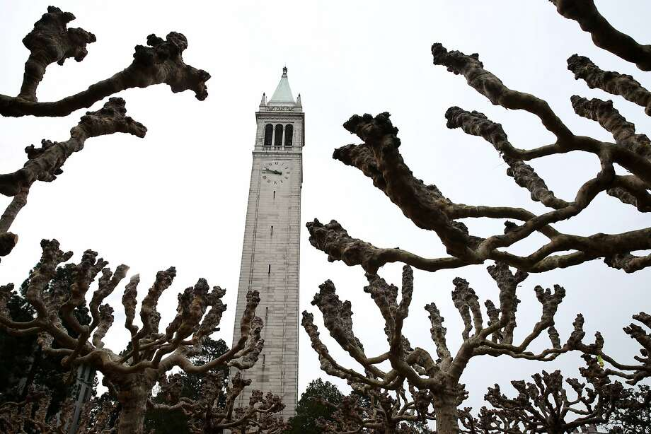 UC Berkeley is one of the 10 campuses, five medical centers and three national laboratories expected to be hit by a one-day walkout by clerical and administrative support workers. Photo: Paul Chinn, The Chronicle