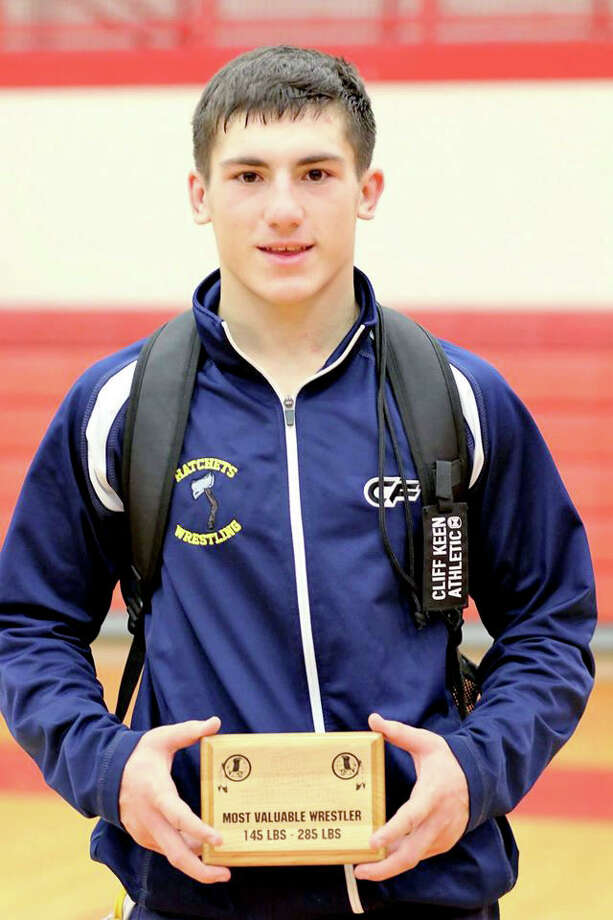 Dylan Smith was named MVP for the 145-285 weight classes, Saturday, at the Sandusky Invitational.