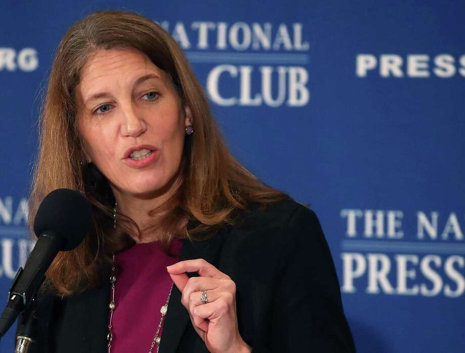 WASHINGTON, DC - JANUARY 09:  Health and Human Services Secretary Elizabeth Burwell speaks about the benefits of the Affordable Care Act at the National Press Club January 9, 2017 in Washington, DC. Congress aims to take steps toward repealing the Affordable Care Act without proposing a replacement.  (Photo by Mark Wilson/Getty Images) Photo: Mark Wilson, Staff / Getty Images / 2017 Getty Images