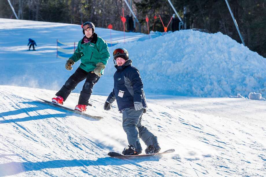 Adaptive Sports Foundation's Warriors In MotionWeekend took place at Windham Mountain on the weekend of Jan. 5 to 8. (Submitted photo) Photo: Marc Bryan-Brown / © 2016 Marc Bryan-Brown