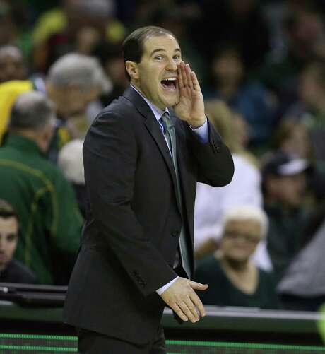 """Baylor coach Scott Drew says """"the bigger goals are more important"""" than being ranked No. 1. Photo: Rod Aydelotte, FRE / FRE36102 AP"""