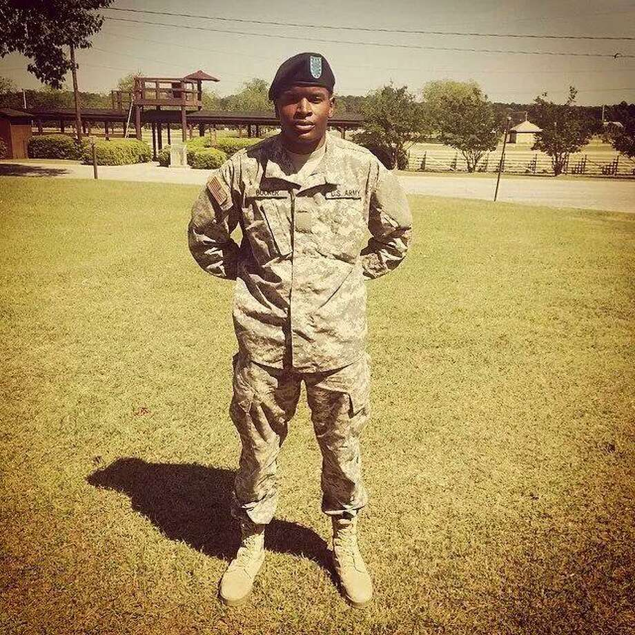 Spc. Isiah L. Booker, 23, died Saturday while operating construction equipment in Jordan. Photo: Courtesy Photo /Courtesy Photo