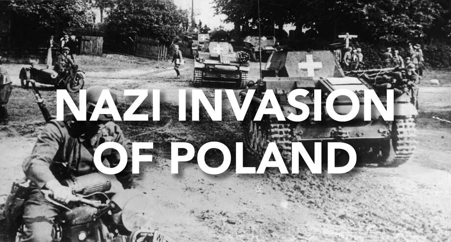 On September 1, 1939 the Nazis invaded Poland, starting WWII.