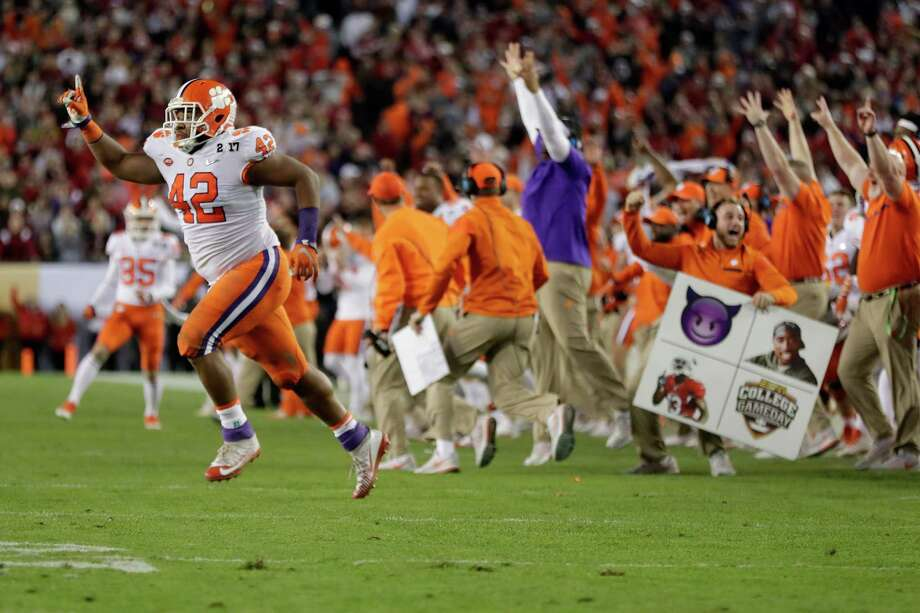 PHOTOS: Ranking every college football national championship game in the BCS/College Football Playoff eraAs good as the Clemson-Alabama game was, it wasn't the best national championship game we've seen.Browse through the photos to see the rankings of the last  Photo: Jamie Squire, Getty Images / 2017 Getty Images