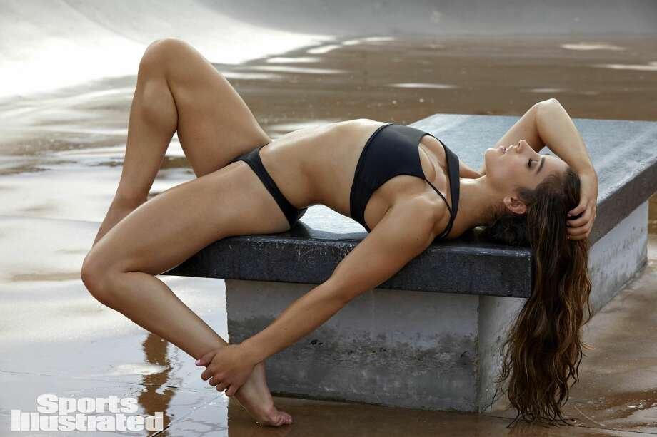 """Olympian and Houstonian Aly Raisman is slated to attend Sports Illustrated'stwo-day music, food and culture festival—""""VIBES"""" by Sports Illustrated Swimsuit—to be held in Houston on February 17–18. The Festival will celebrate the launch of its 2017 swimsuit issue.  Photo: James Macari/Sports Illustrated Swimsuit"""