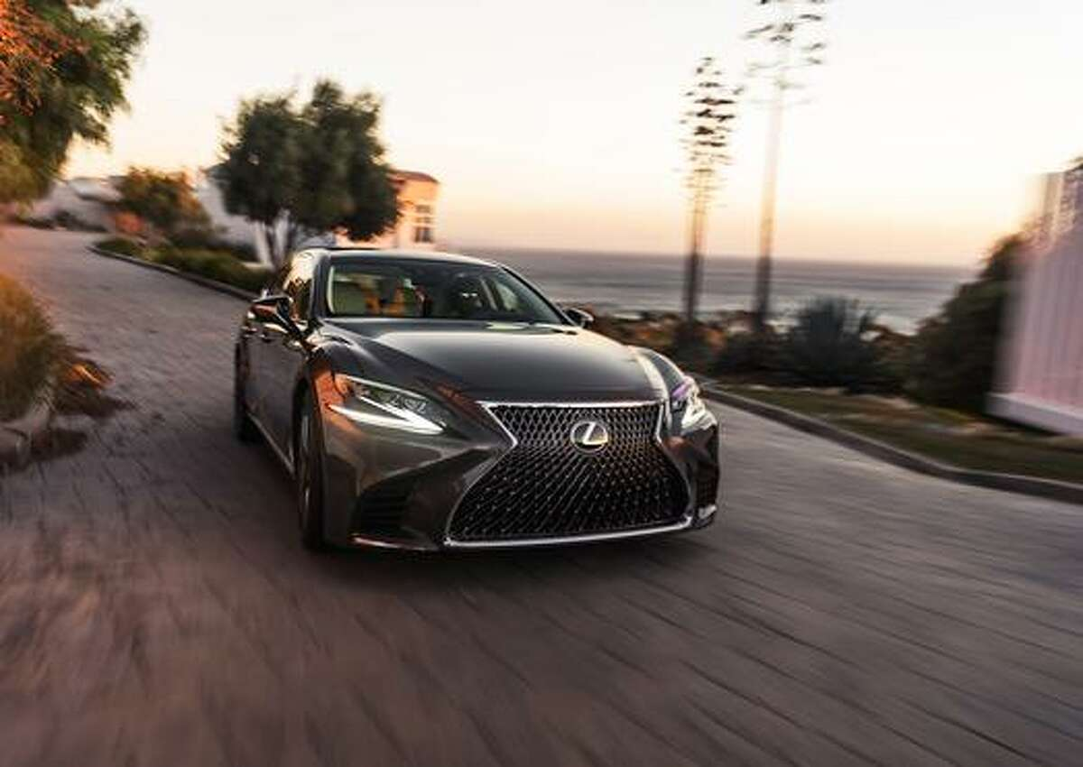 Lexus' LS flagship sedan for 2018 has been unveiled. >>Click to see inside the new model, and to check out the cars that won't be on the road this year.