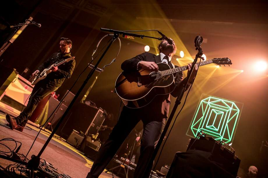 Lord Huron performed at the UC Theatre in Berkeley on Sunday, Jan. 8. Photo: David Weiland