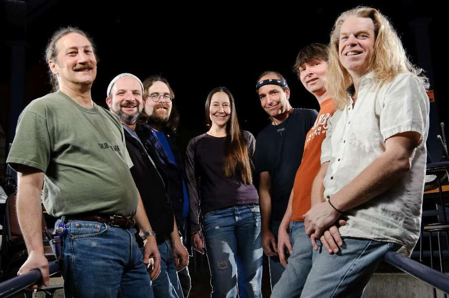 Members of the Dark Star Orchestra, from left, Kevin Rosen, Rob Koritz, Jeff Mattson, Lisa Mackey, Rob Barraco, Dino English and Rob Eaton, are scheduled to perform at the Palace Theatre in Stamford June 2. Since its start, the band has recreated the Grateful Dead concert experience at more than 1,800 shows. Photo: Contributed Photo / Stamford Advocate Contributed