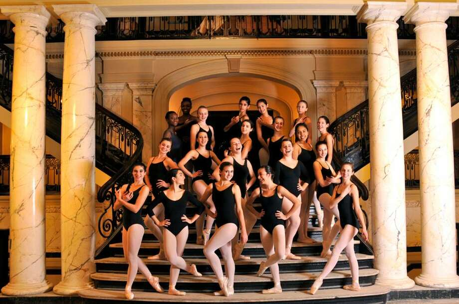 Students from the Ballet School of Stamford will present 'The Scarlet Slipper Mystery, a Nancy Drew Ballet' and 'Dances in a Garden' at 7 p.m. Friday at the Palace Theatre in Stamford. Photo: Contributed Photo / Stamford Advocate Contributed