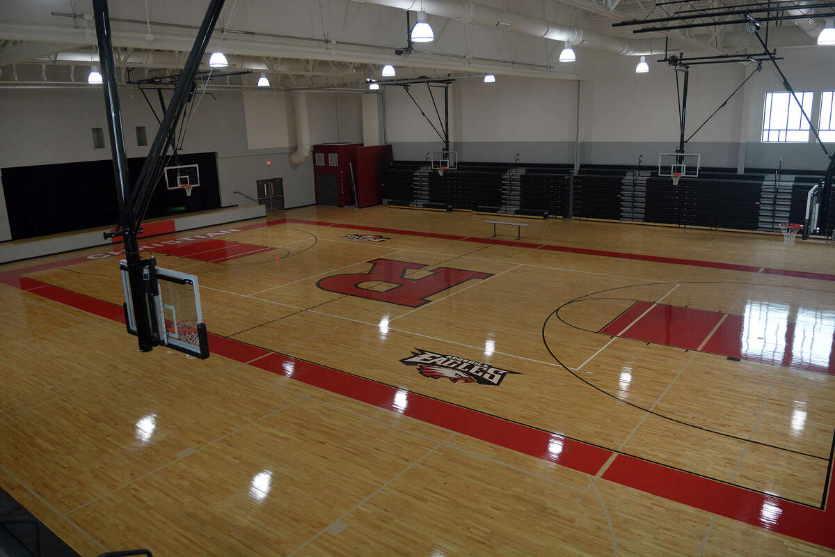 Rosehill Christian School's new 40,000 sqaure foot multplex includes 13 classrooms, a performing arts venue and a college-sized gymnasium. (Photo by Jerry Baker/Freelance)