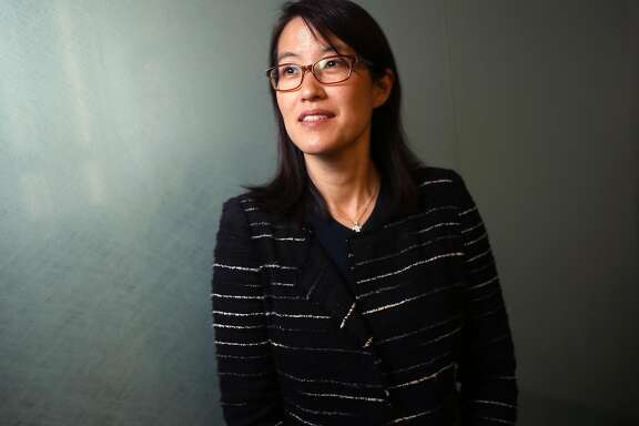 Ellen Pao is photographed on Sept. 7, 2016, in San Francisco, Calif. Pao says data that LinkedIn released recently, which shows an apathetic response by investors and entrepreneurs to their industry's lack of diversity, illustrate a broken venture capital system. (Aric Crabb/Bay Area News Group/TNS)