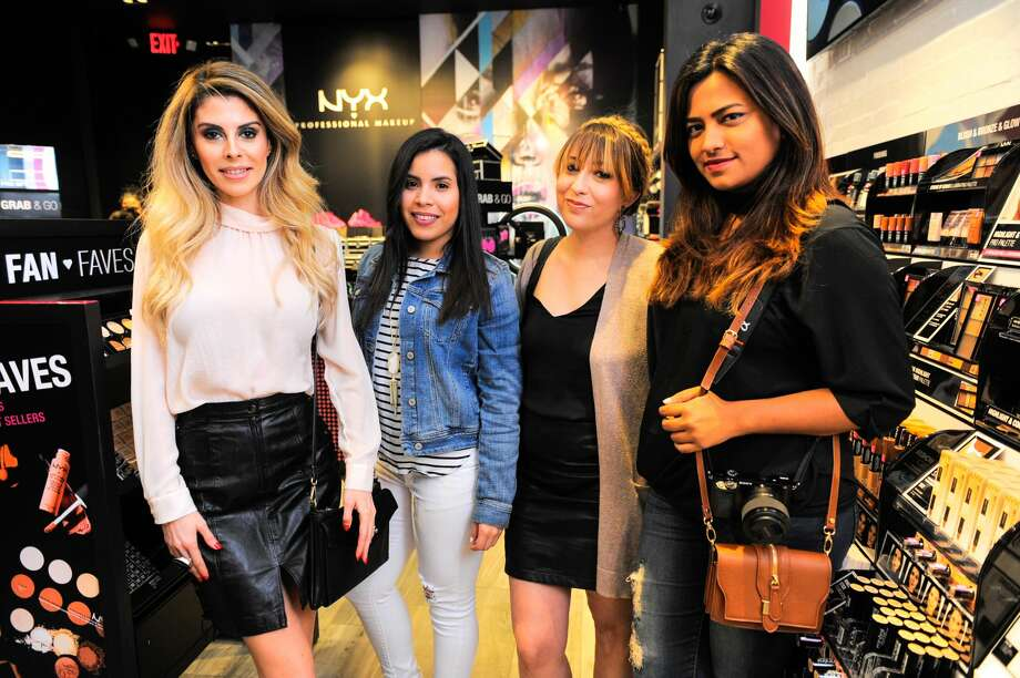 DORAL, FL - NOVEMBER 17:  (L-R) Tatiana Navarrete, Laura Rivas and Stephanie Pernas attend the NYX Professional Makeup Store Miami International Instore Preview Party at the NYX Professional Makeup Store at Miami International Mall on November 17, 2016 in Doral, Florida.   (Photo by Sergi Alexander/Getty Images for NYX Professional Makeup) Photo: Getty