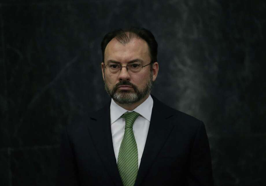 Mexico's new foreign relations secretary, Luis Videgaray, says his country isn't just willing to negotiate changes to the North American Free Trade Agreement, it wants to start talks as soon as possible. Photo: Marco Ugarte /Associated Press / Copyright 2017 The Associated Press. All rights reserved.
