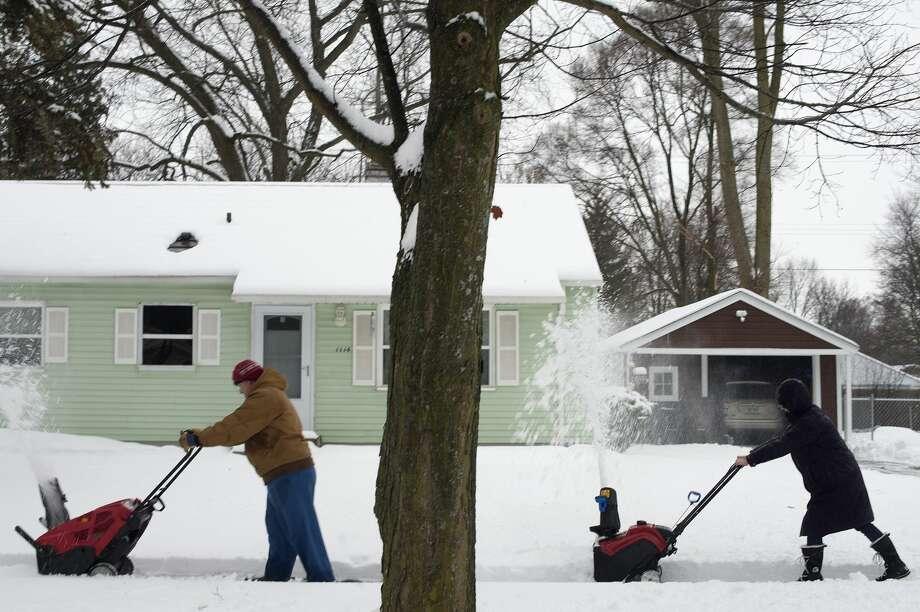Detroit, Michigan--0.6 inch Photo: Brittney Lohmiller/Midland Daily News/Brittney Lohmiller