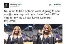 Famous Spurs fans cast their All-Star vote.