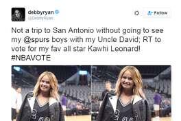Famous Spurs fans cast their All-Star vote.