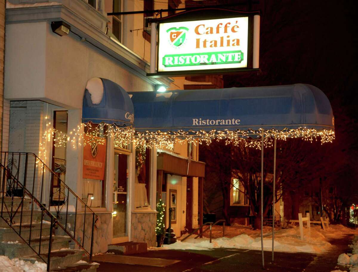 Exterior of Caffe' Italia, on Central in Albany, NY, on Monday, Dec. 28, 2010. (Luanne M. Ferris / Times Union)