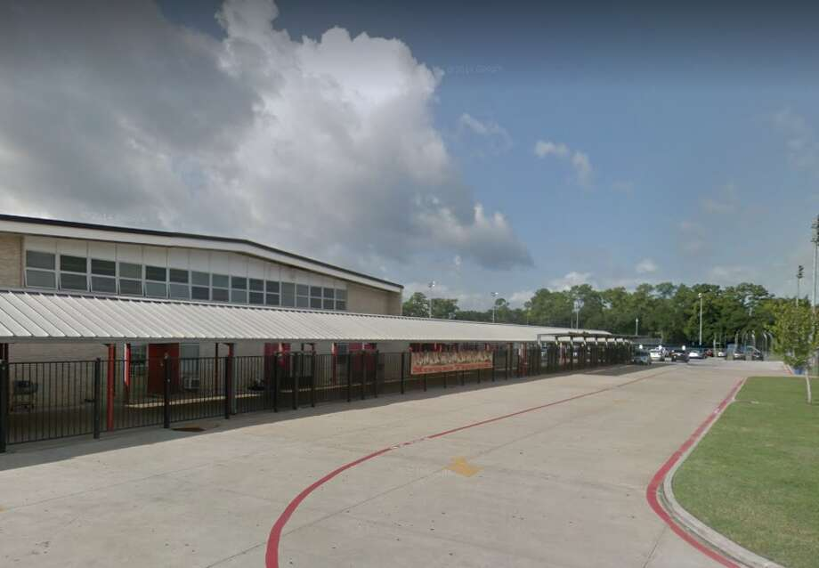 A Memorial High School sophomore is accused of using a stolen password and using it to change personal grades, according to Spring Branch ISD students.  Photo: Google Earth