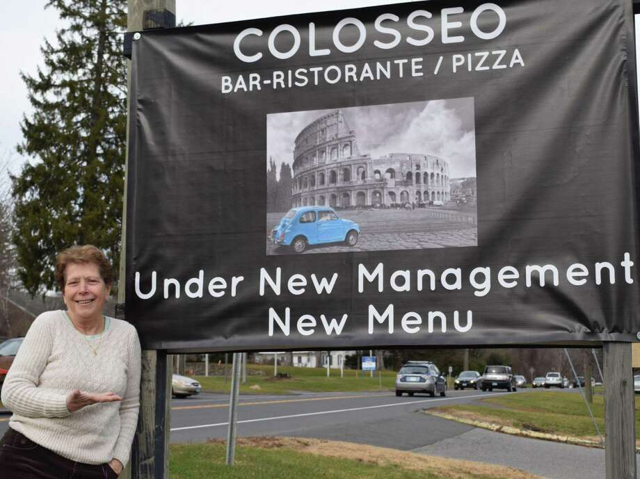 Spectrum/Il Colosseo on Route 202 in New Milford is celebrating recent renovations and a new manager and chef. Above is restaurant owner Rosalia Des Biens. December 2016 Photo: Deborah Rose / Hearst Connecticut Media / The News-Times  / Spectrum