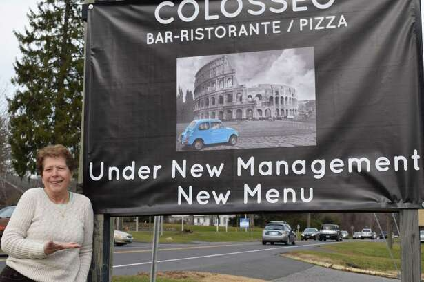 Spectrum/Il Colosseo on Route 202 in New Milford is celebrating recent renovations and a new manager and chef. Above is restaurant owner Rosalia Des Biens. December 2016