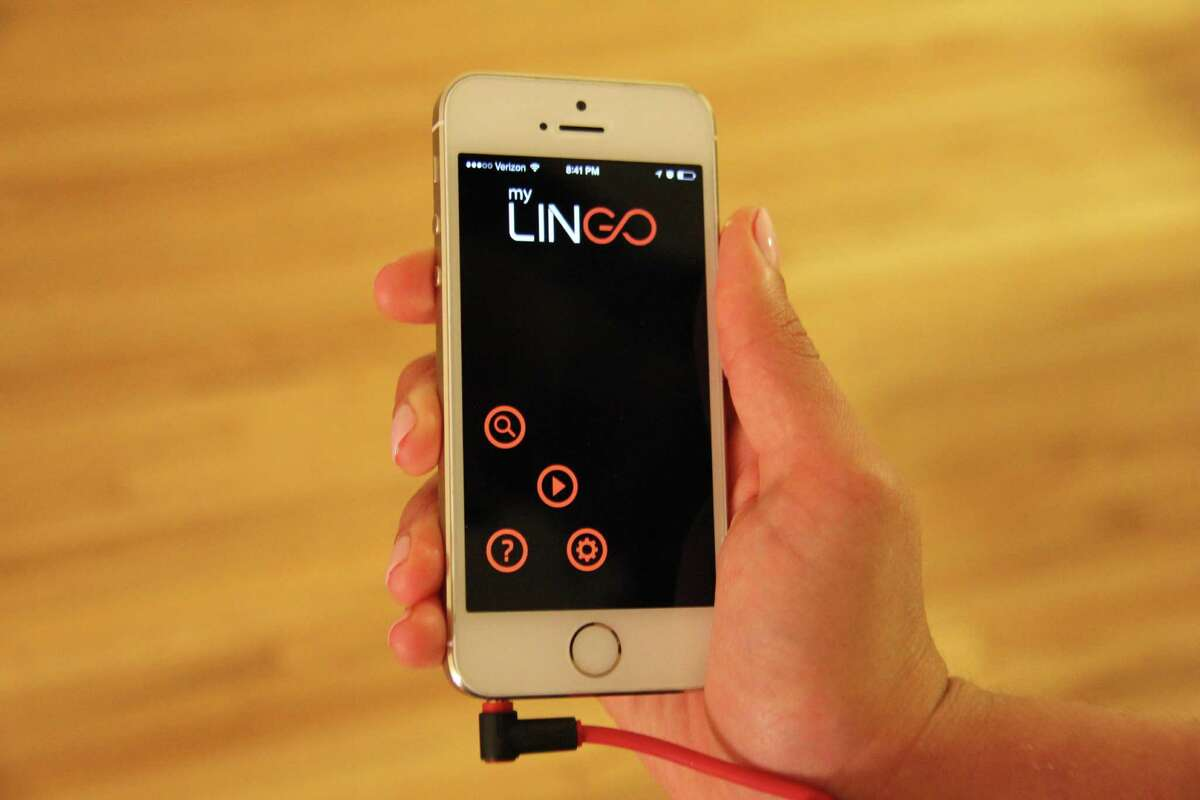"""Olenka Polak and her brother Adam, who grew up in Greenwich, launched myLINGO, a smartphone app that allows moviegoers to hear a movie in their own language through their headphones in 2014. It debuted at screenings nationwide of 'Cesar Chavez"""" on Thursday, March 28, 2014."""