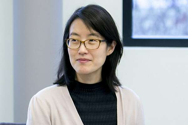 Ellen Pao at the Kapor Center on Tuesday, Jan. 10, 2017, in Oakland, Calif. Pao is the center's new chief diversity and inclusion officer, as well as a venture partner at Kapor Capital.